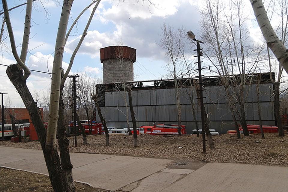 Ствол № 2, он расположен возле здания Управления строительства на улице Ладо Кецховели