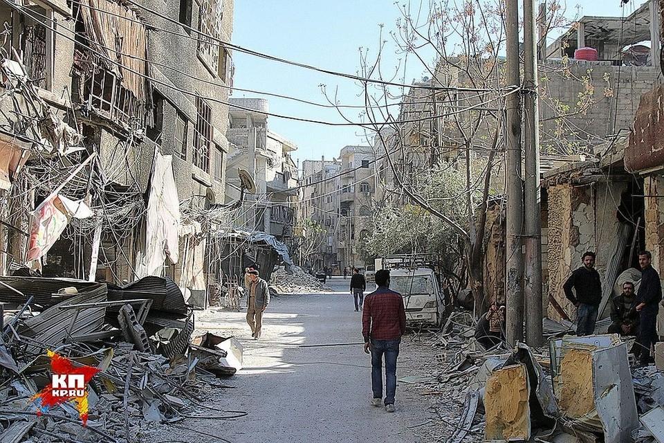 В сирийской Думе возобновились столкновения правительственной армии с боевиками