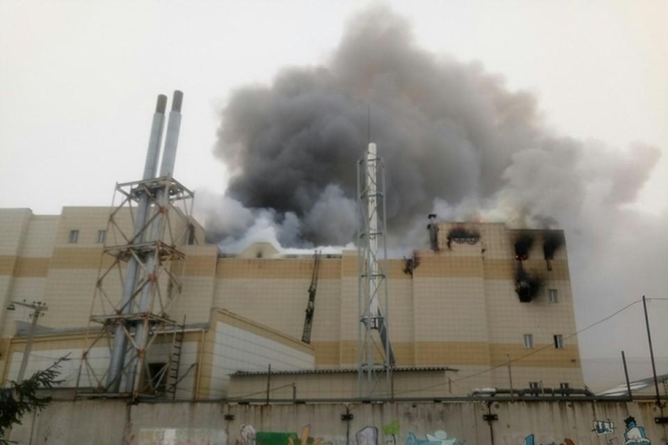 Пожар в ТЦ «Зимняя вишня» мог произойти из-за протечки