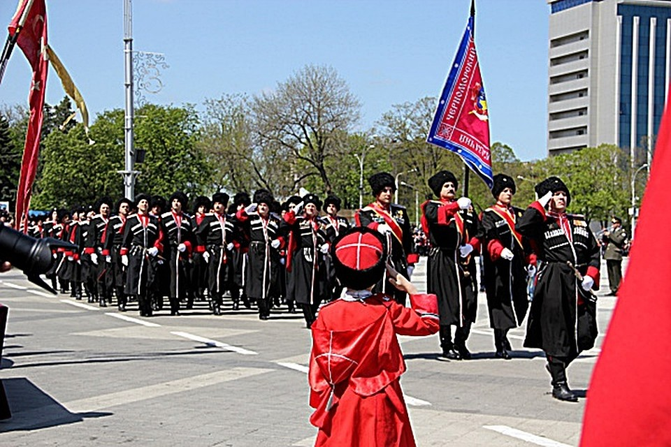 a83577cdd330 В Краснодаре пройдет парад Кубанского казачьего войска