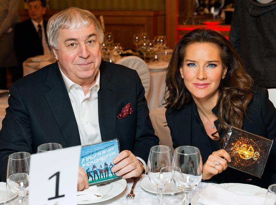 Михаил Гуцериев и Елена Север