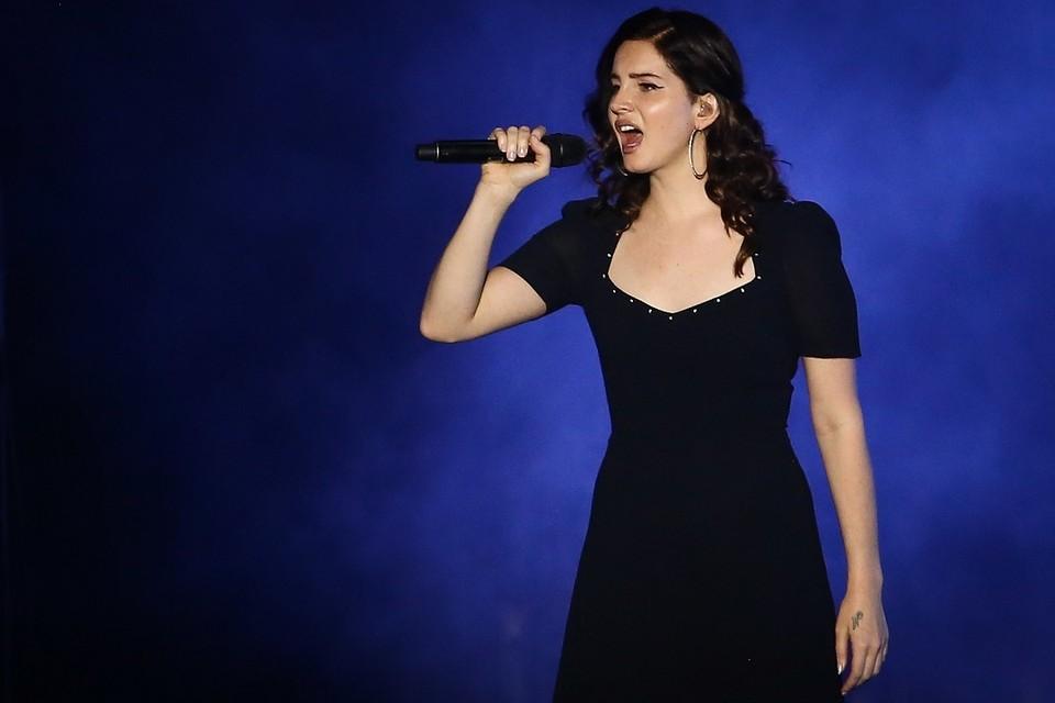 Певица Лана Дель Рей