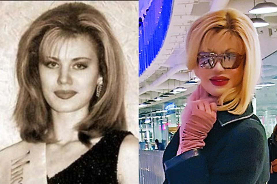 На фото (слева) Элеонора в 1998 году сразу после конкурса «Мисс Сочи», справа - снимок, сделанный в 2017 году.