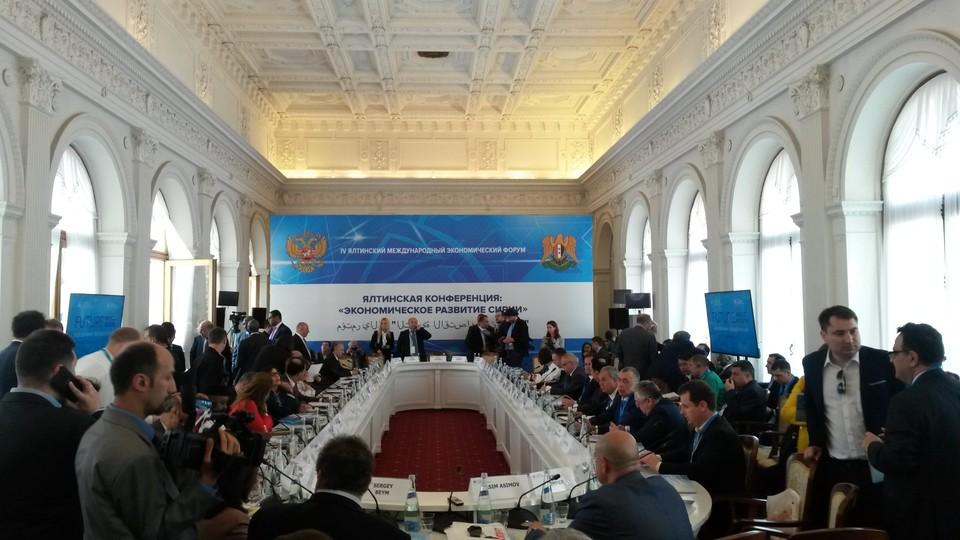 глава Крыма Сергей Аксенов подтвердил желание и готовность республики принять активное участие в восстановлении экономики Сирии.