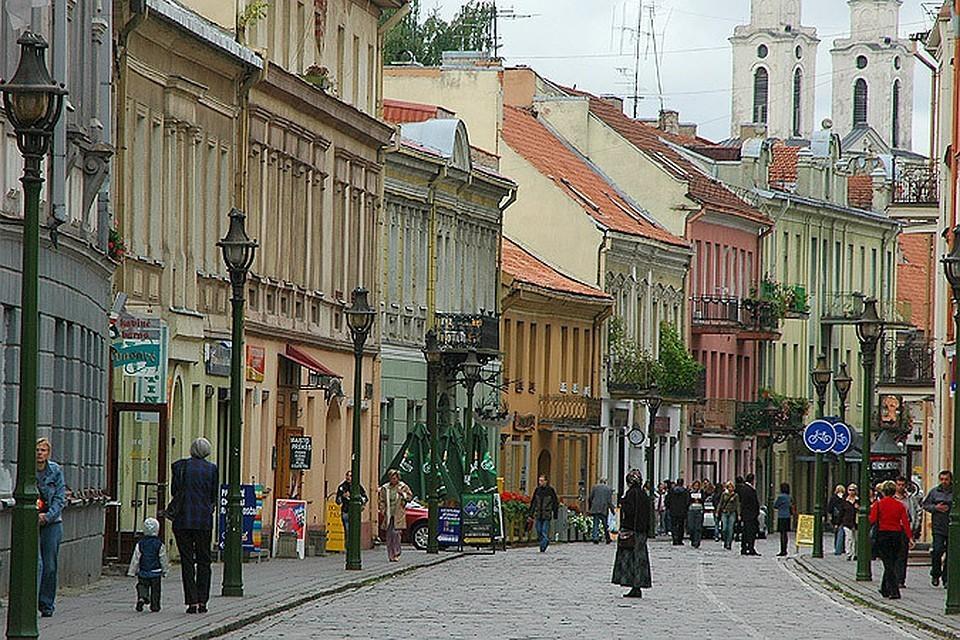 В литовском Каунасе эстонец подрался с украинцем из-за России