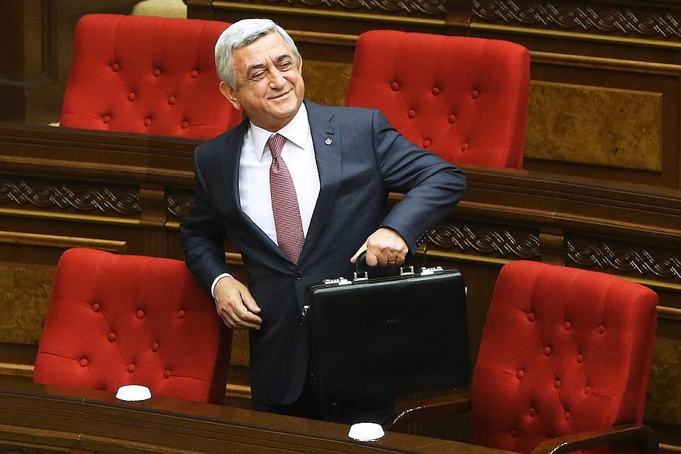 Sarkisyan istefa verdi: