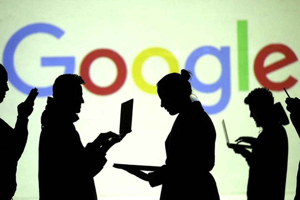 Российское подразделение Google несколько часов официально не комментировало ситуацию