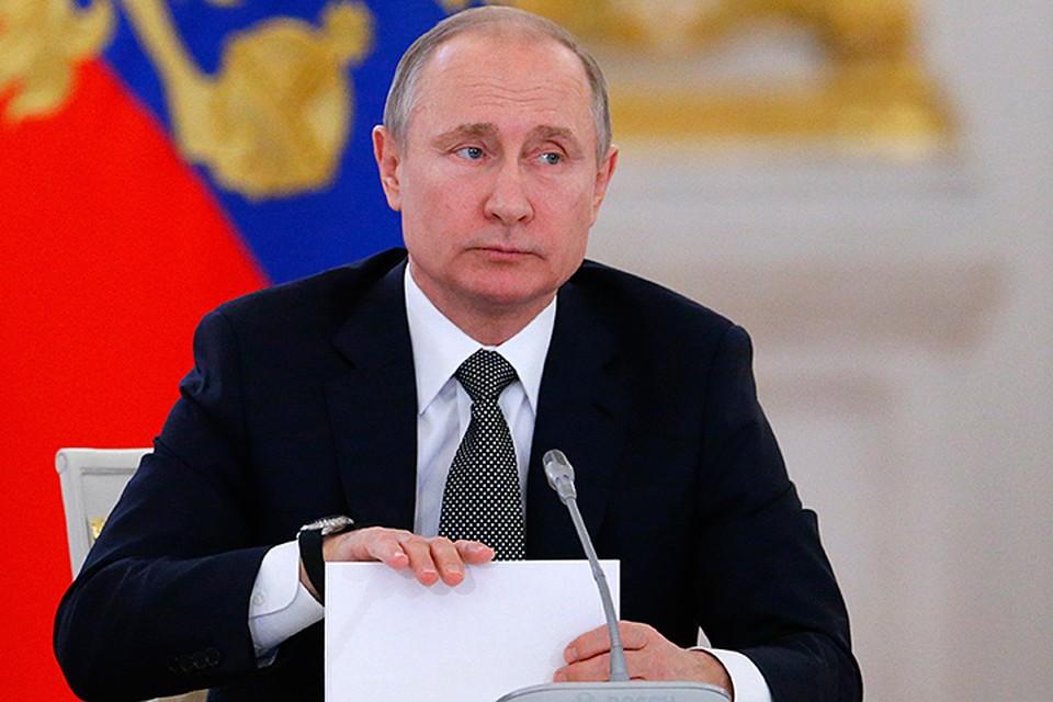 Владимир Путин подписал целый ряд указов