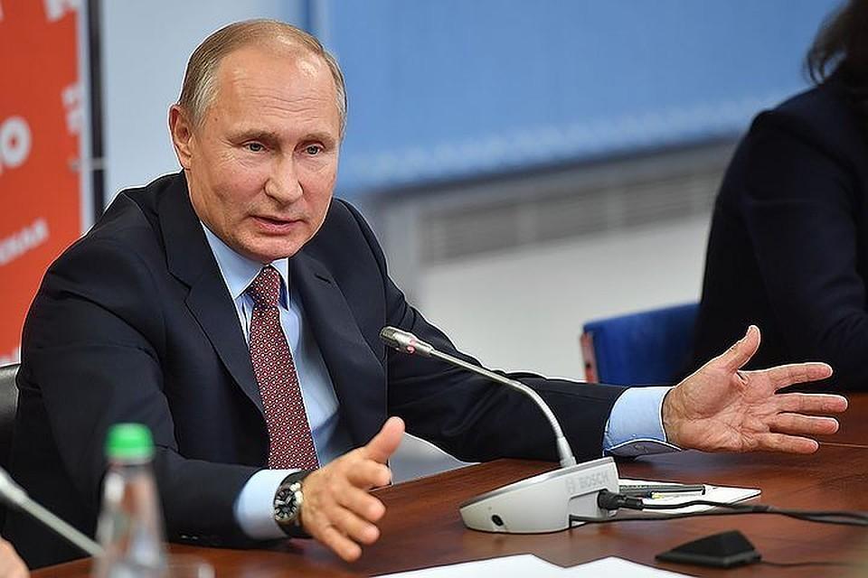 Путин: Россия нуждается в технологическом прорыве в области вооружений