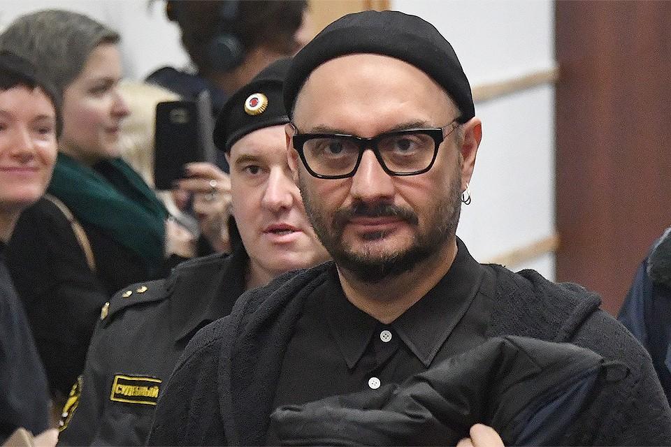 Кирилл Серебренников в помещении Басманного суда.