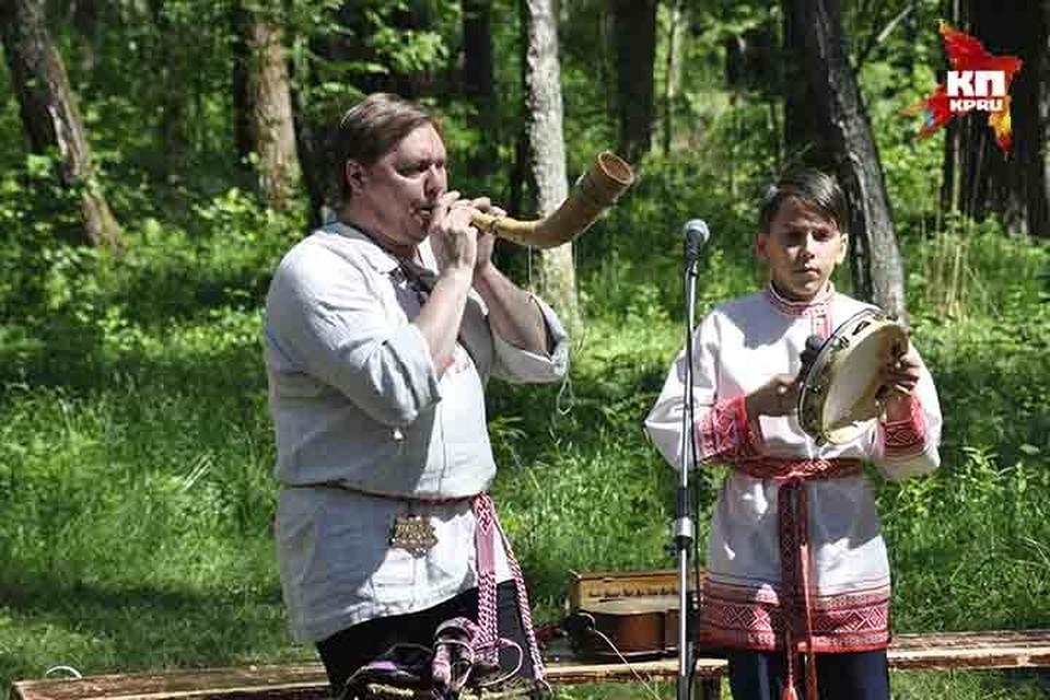 В Смоленске прошел фестиваль фольклора и ремесел «Славянское братство-2018».