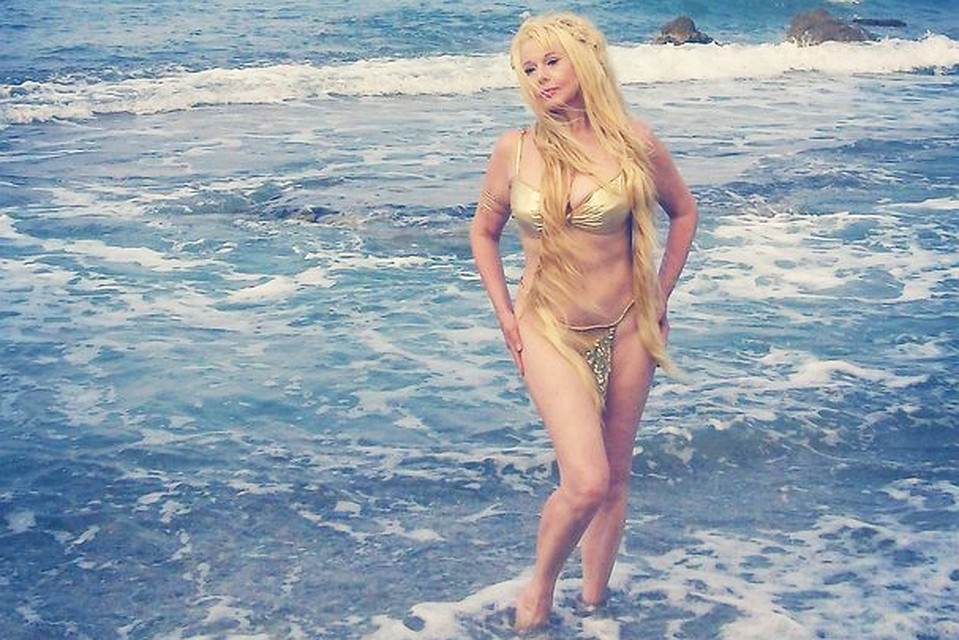 Елена Кондулайнен на острове Крит вдохновилась мифами Древней Греции. Фото: СОЦСЕТИ.
