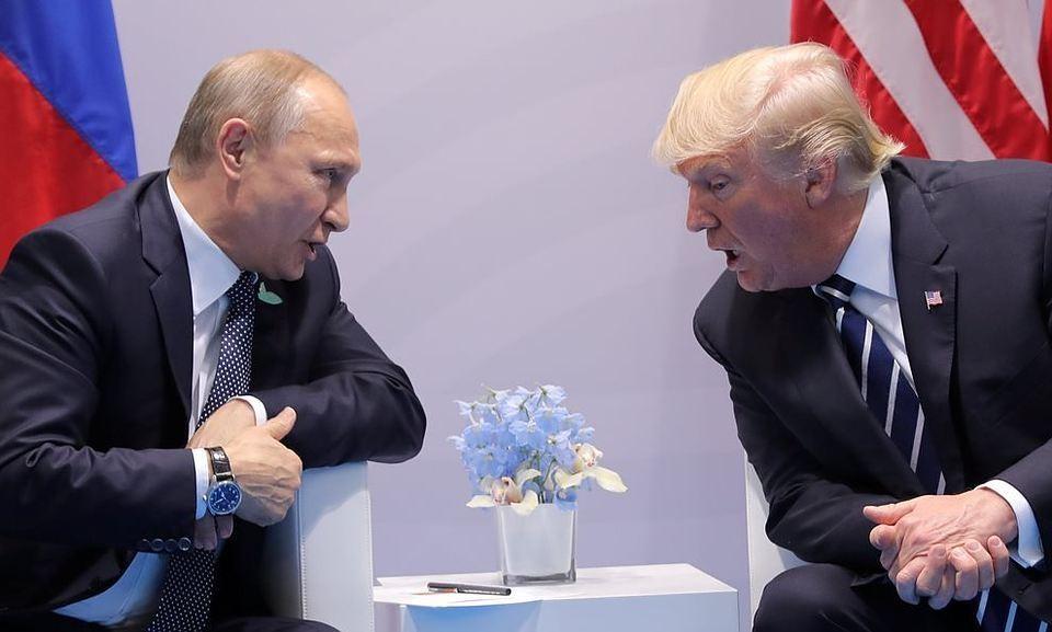 Администрация США готовит встречу Дональда Трампа и Владимира Путина