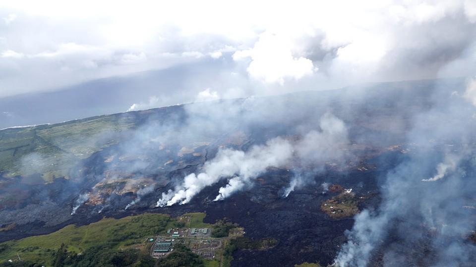 На Гавайях произошло извержение вулкана Килауэа