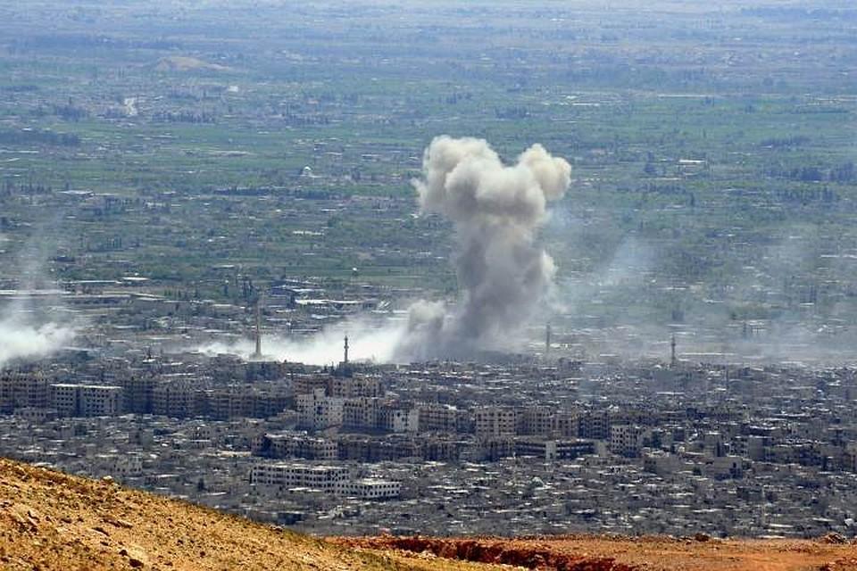 Коалиция во главе с США регулярно совершает авиаудары по Сирии