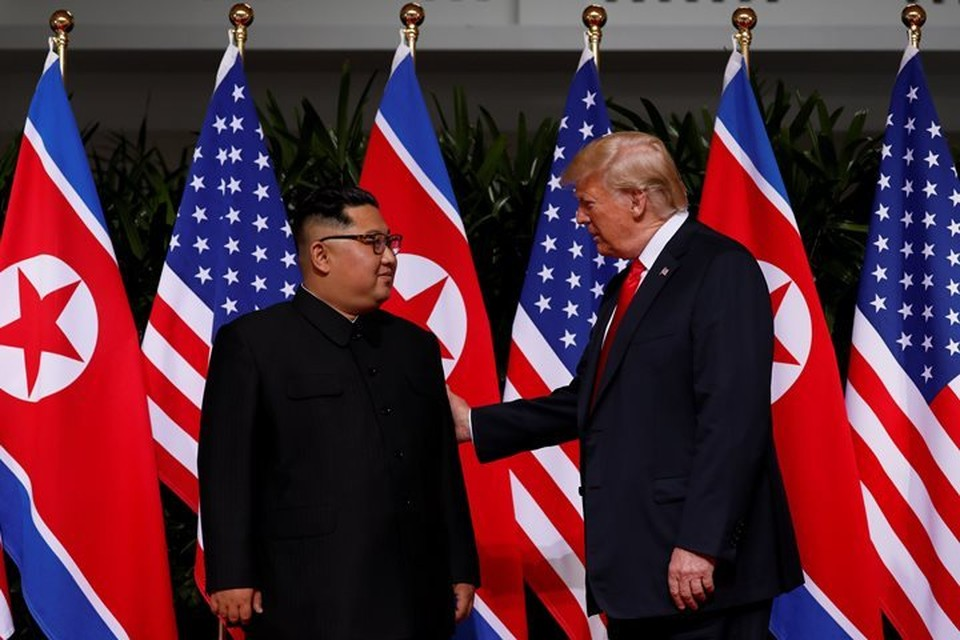В Сингапуре 12 июня состоялся первый в истории саммит США - КНДР