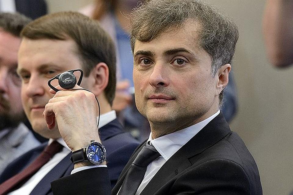 Сурков продолжит заниматься урегулированием вокруг Донбасса