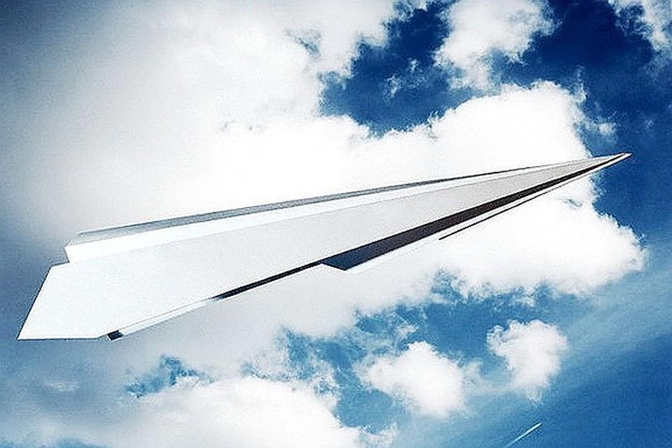 В Америке запустили рекордно большой бумажный самолет