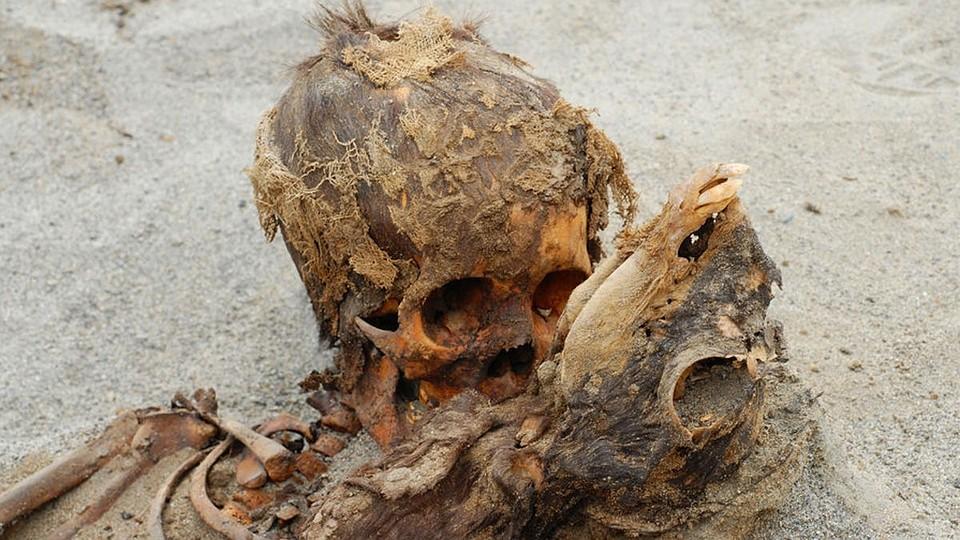 В Перу археологи обнаружили могильник с детьми и ламами