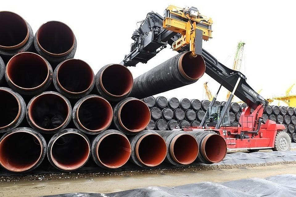Компания-оператор «Северного потока-2» получила почти все трубы, необходимые для строительства