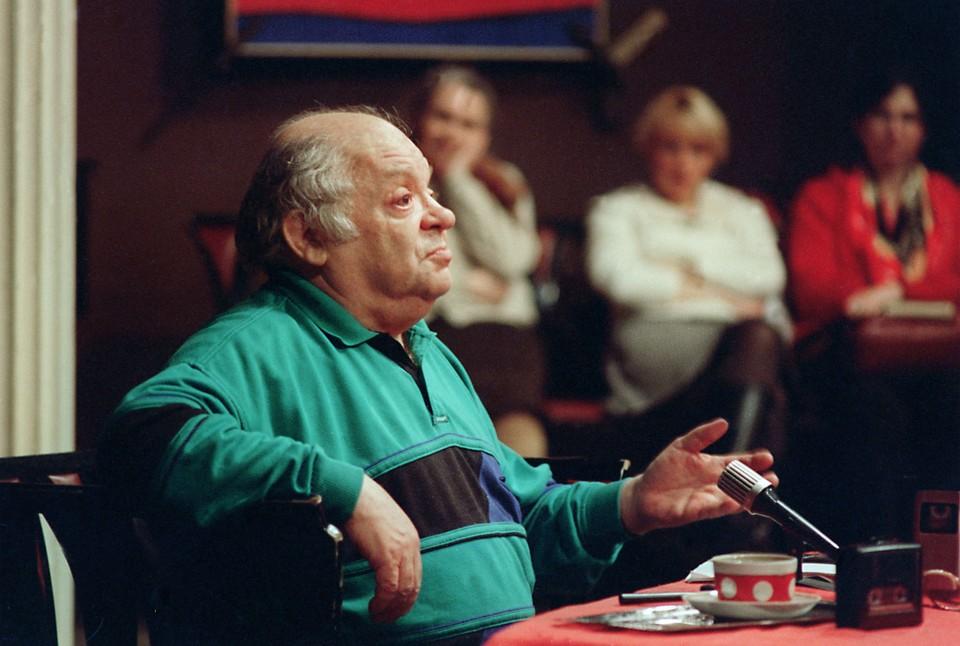 Поэт Наум Коржавин в 1997 году. Фото Алексея Дружинина ИТАР-ТАСС