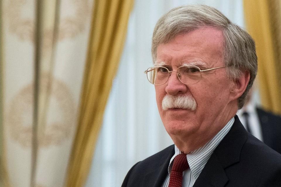 Помощник президента США по национальной безопасности Джон Болтон