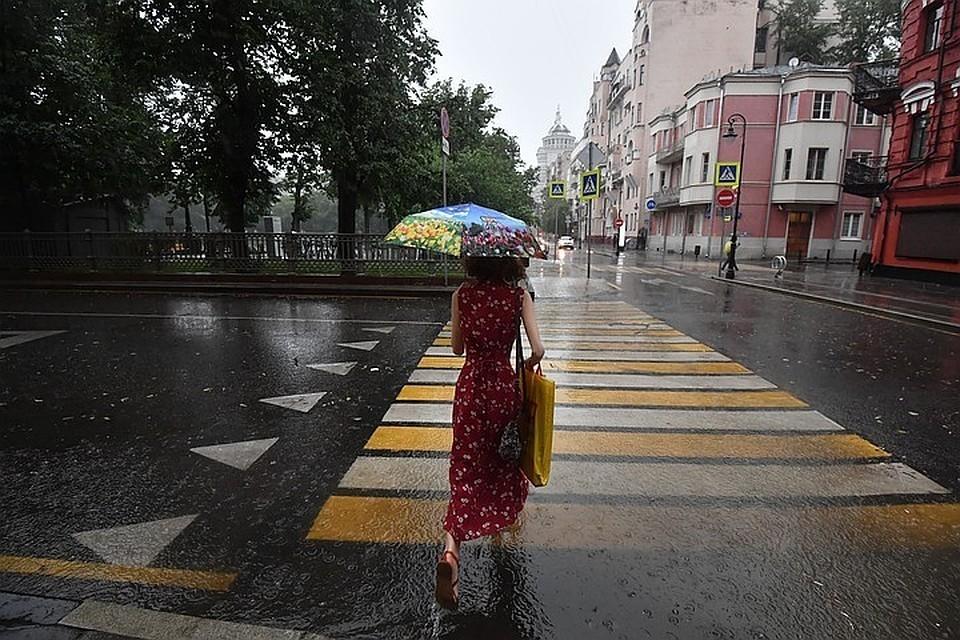 Первые дни июля принесут в Москву грозы и дожди