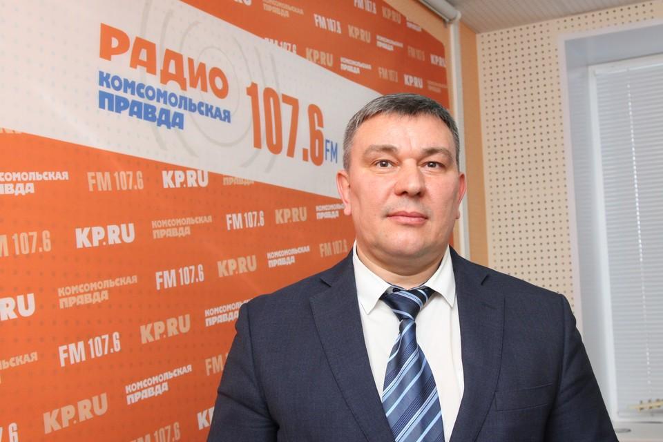 Алексей Горбачев, министр транспорта и дорожного хозяйства УР