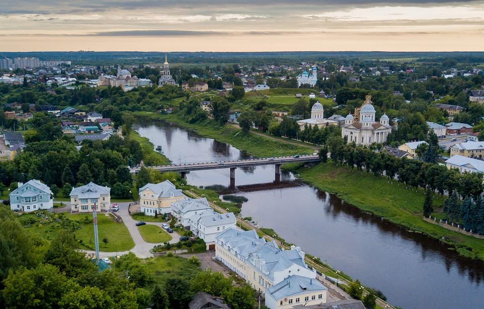 По завершении реализации проекта в Торжке будет сформирован единый культурно-туристический комплекс. Фото: правительство Тверской области