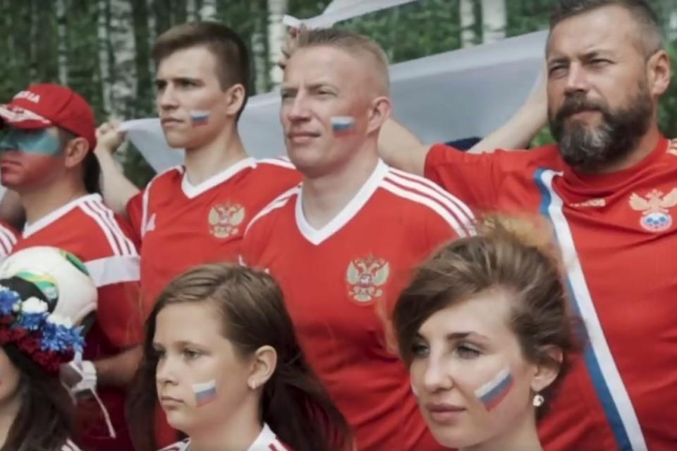 Российские болельщики ответили спевшим «Калинку» исландцам