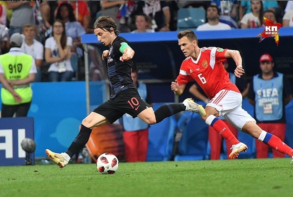 Сборная России уступила в серии пенальти Хорватии в четвертьфинале ЧМ-2018.