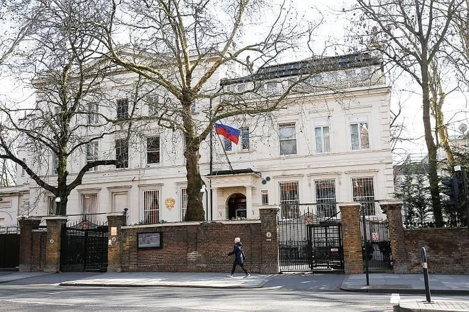 Здание посольство РФ в Лондоне