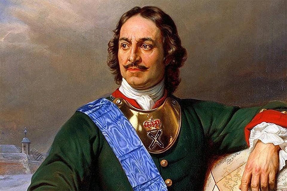 Портрет Петра I. 1838 год, Поль Депарош