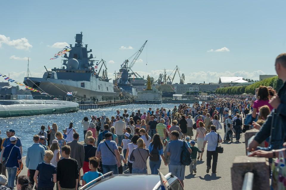 Транспортные изменения в Санкт-Петербурге в День ВМФ 2018.