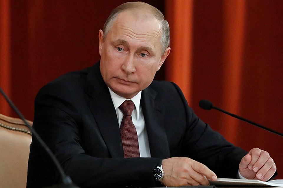 Владимир Путин наградил сегодня главного судью страны