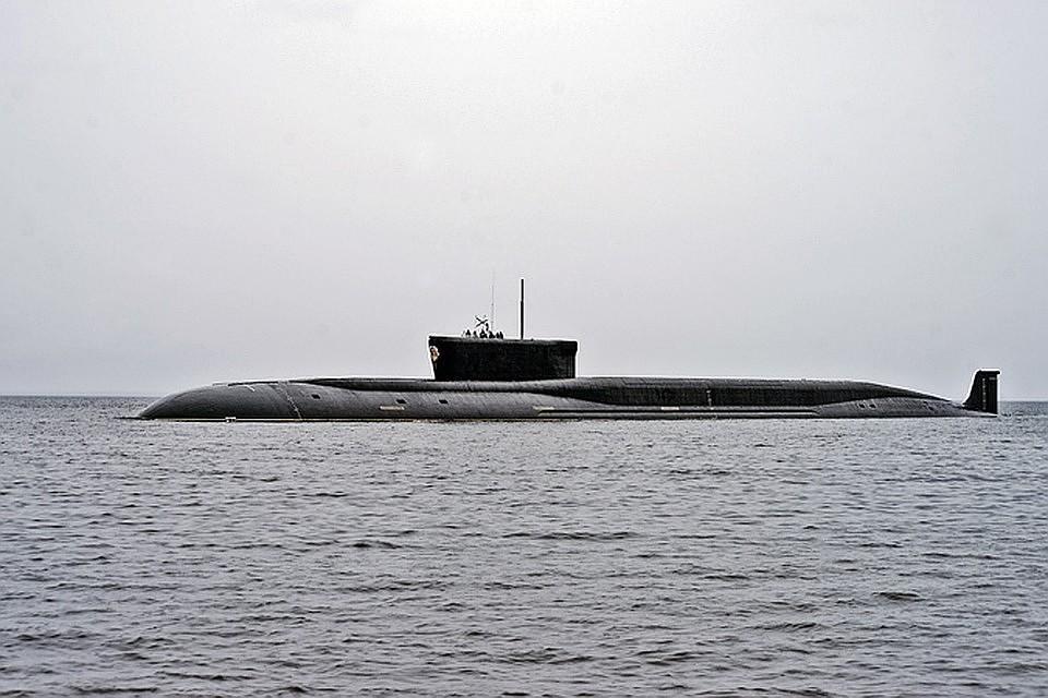 """Стратегический атомный подводный ракетоносец класса """"Борей"""". Фото: Олега Кулешова."""