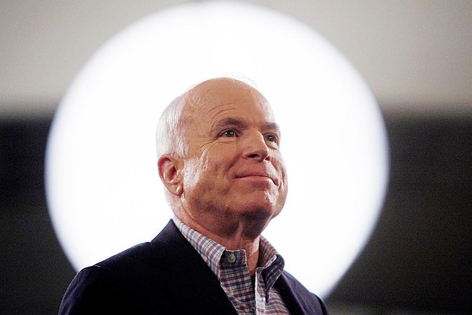 Сенатор-республиканец Джон Маккейн