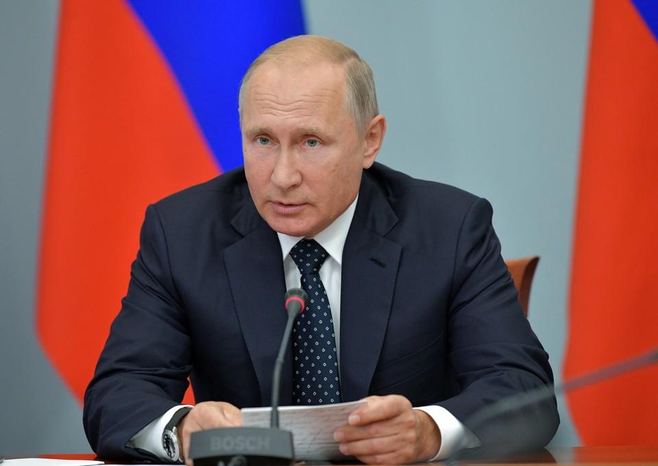 Владимир Путин высказал свое мнение об изменении пенсионного законодательства в телеобращении.