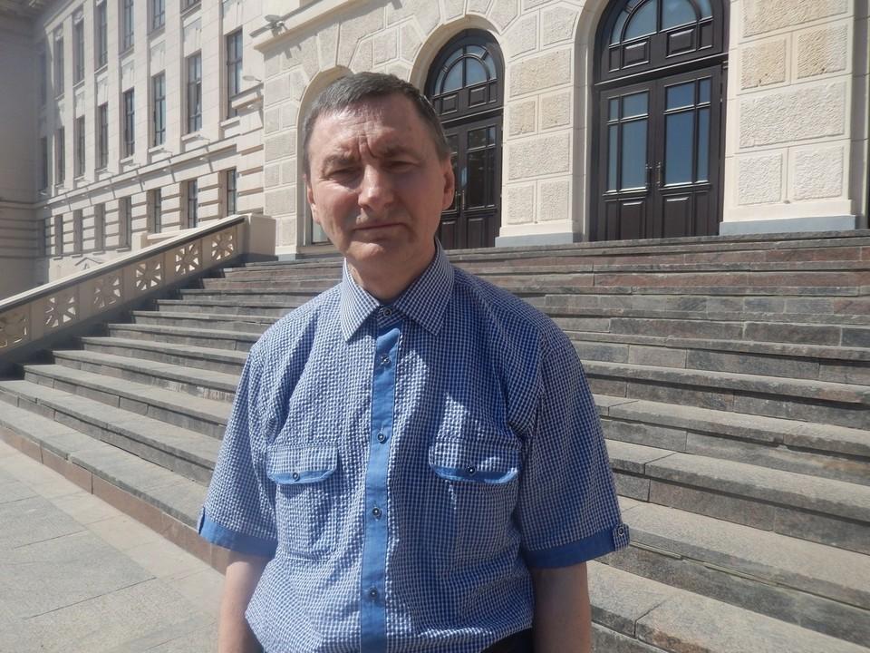 Профессор Сергей Некрасов - преподаватель кафедры «Прикладная математика»