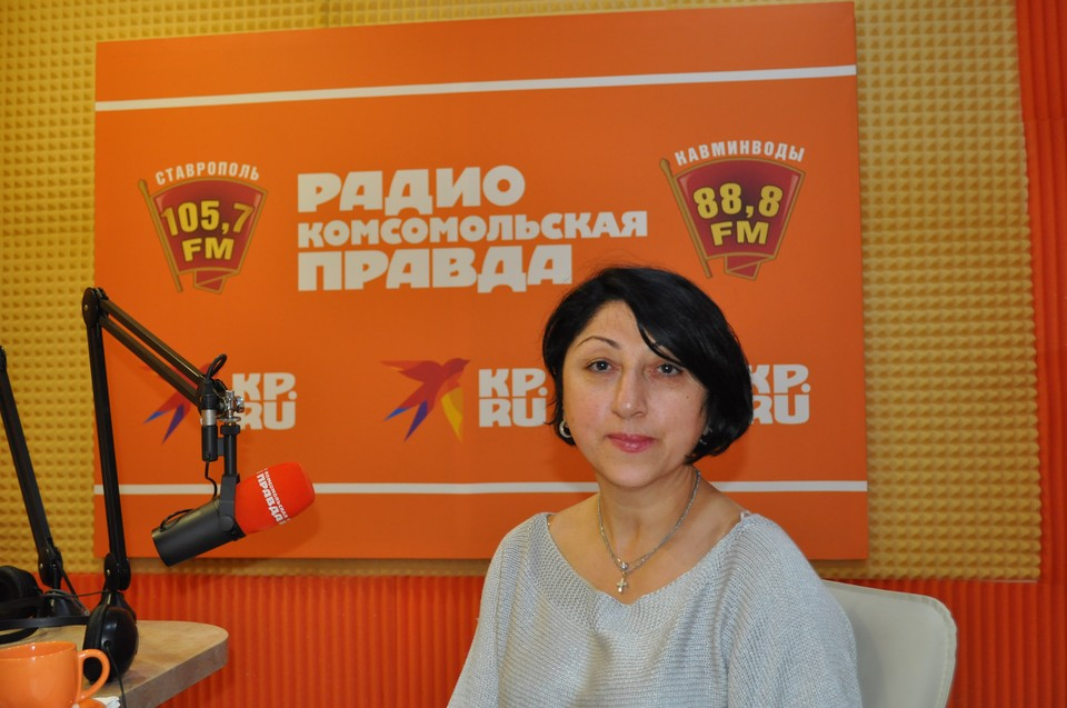 Заведующая терапевтическим отделением СККБ Анна Батаева