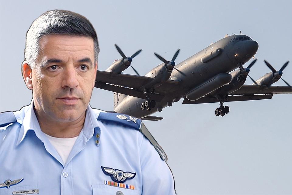 После ЧП со сбитым самолетом Ил-20 в Москву прибыл командующий ВВС Израиля генерал Амикам Норкин. ФОТО REUTERS/WIKIPEDIA