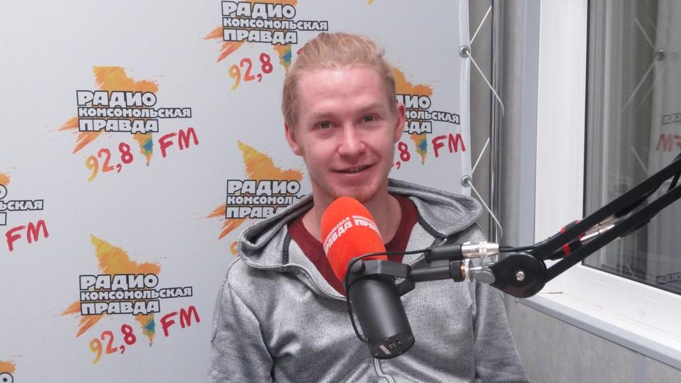 Талисман БК «Нижний Новгород» Лось Трюльник, он же участник шоу «Танцы» Евгений Тюрин