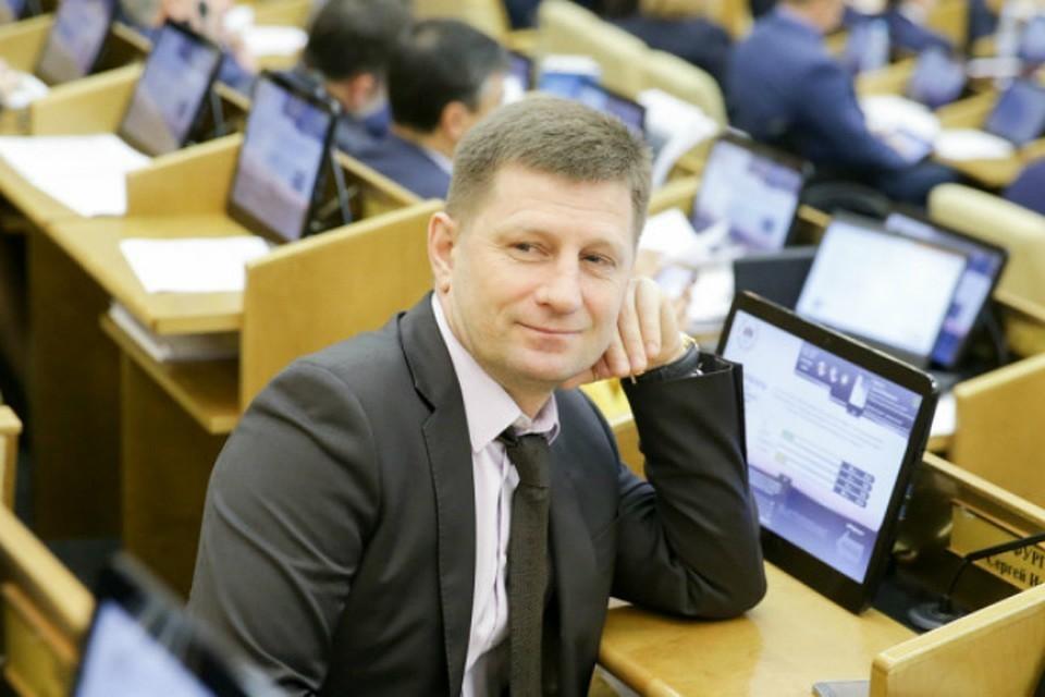 Кандидат от ЛДПР Сергей Фургал. Фото: Хабаровское региональное отделение ЛДПР