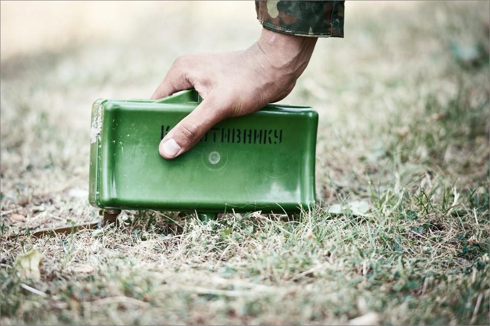 На такой противопехотной мине подорвались дети. Фото: Wix.com