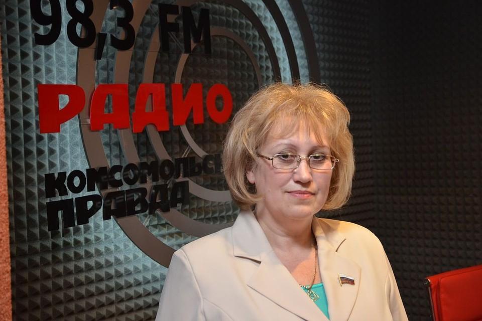 депутат госдумы обиделась на поздравление комсомольская правда имеет малолетнего