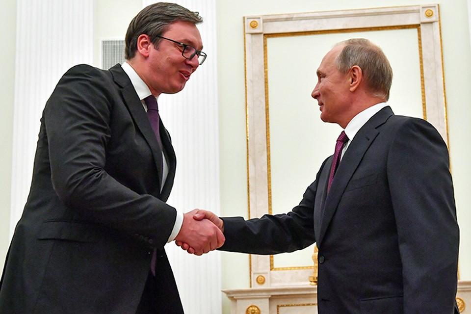 Вучич еще раз подчеркнул, что Белград вопреки давлению не собирается вступать в НАТО