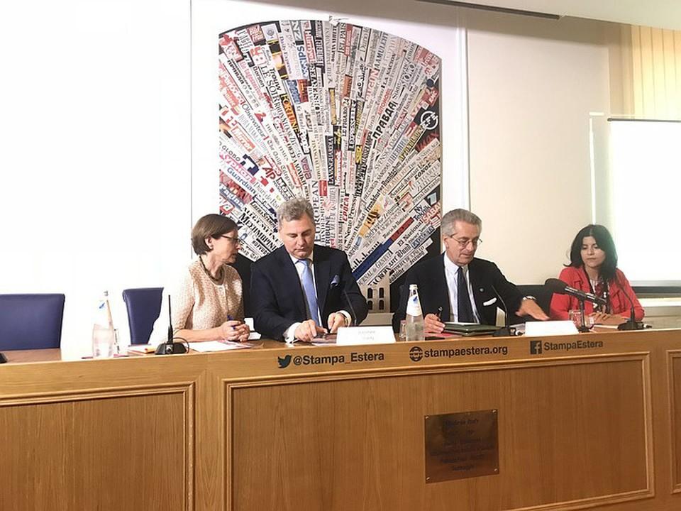 Владимир Торин, президент международного культурного фестиваля «Русский Рим» огласил программу предстоящего фестиваля.