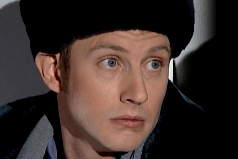 Актер Михаил Фатеев. Кадр из фильма