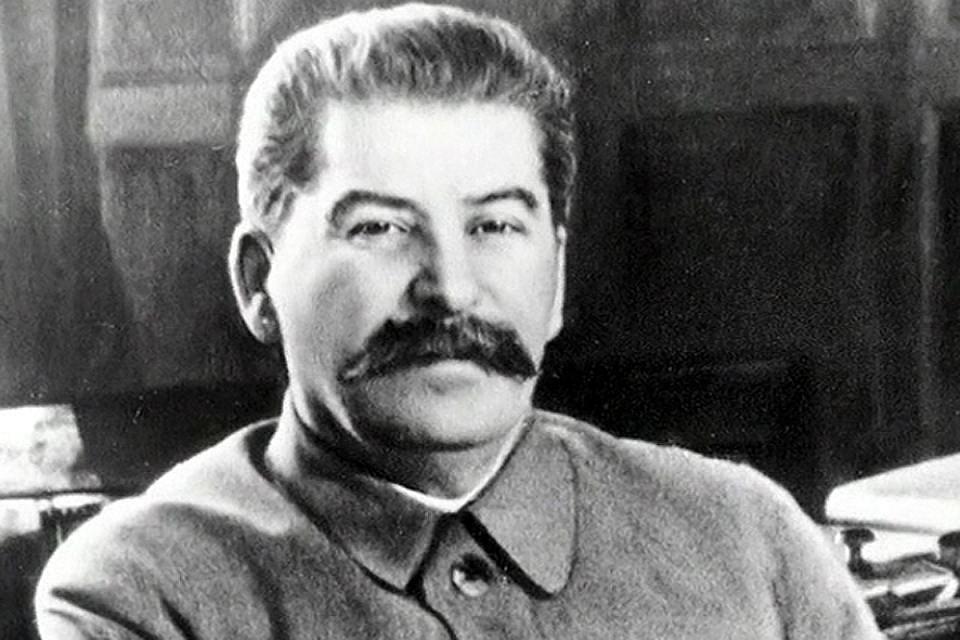 Советский партийный, государственный и военный деятель Иосиф Сталин