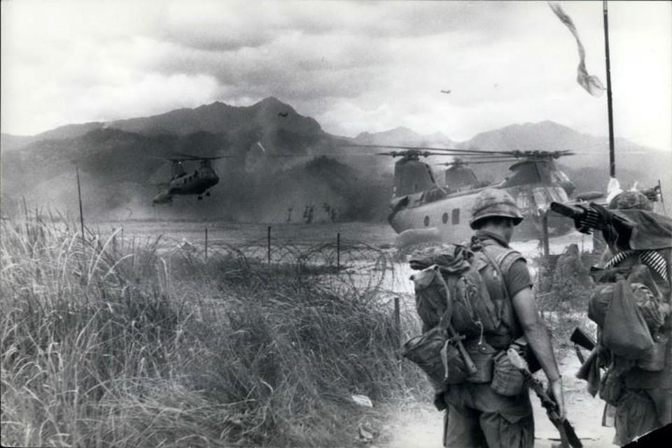 Еще в конце 1961 года американцы ввели во Вьетнам первые войска